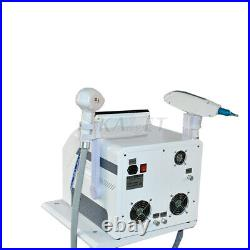 2 In 1 Ice Cooling Diode Hair Removal and ND Yag Tattoo Removal Laser Machine