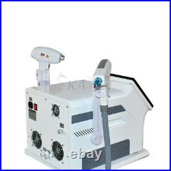 2 In 1 Professional 755 808 1064 Diode Hair ND Yag Tattoo Removal Laser Machine