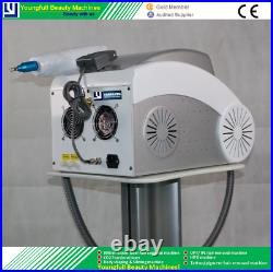 2000W Q-Switched ND YAG Laser Skin Tattoo Removal Machine New CE with air beam