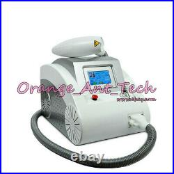 2000mj q switched ND YAG Laser Tattoo Removal beauty Machine 532 1064 1320nm New