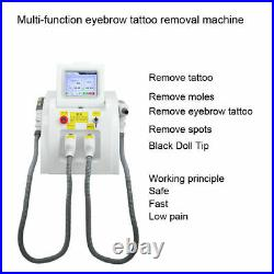 3 in1 SHR OPT IPL Permanent Hair Removal YAG Laser Tattoo Removal Machines NEW