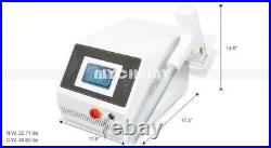 300W Q Switch ND YAG LASER Tattoo Removal Eyebrow Callus Removal Beauty Machine