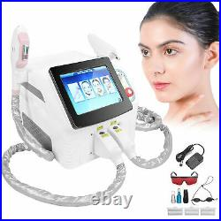 3In1 SHR OPT E-Light IPL Hair Removal RF YAG Laser Tattoo Removal Beauty Machine