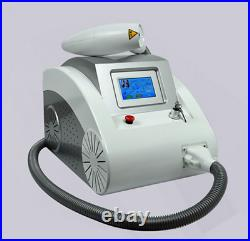 Beauty Salon Q Switched ND Yag Laser Tattoo Removal Machine 532nm 1064nm 1320nm