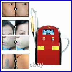 Laser ND YAG Q Switch Eyebrow Tattoo Removal Beauty Machine Dilute Freckle Spot
