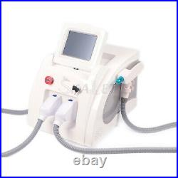 Latest OPT IPL Laser Hair Reduction Nd Yag Freckle Tattoo Removal Beauty Device