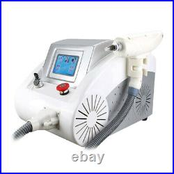 Multi-functional Q switch nd yag laser eyebrow tattoo removal skincare machine