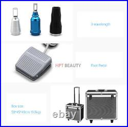ND YAG LASER Tattoo Remover System Eyebrow Removal Beauty Machine 110V 1000W