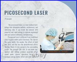 ND Yag Laser Portable Laser Tattoo Removal Instrument Q switched Pico Laser