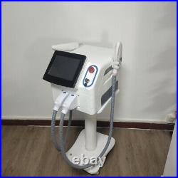 ND yag laser IPL OPT SHR 2 in 1 machine for tattoo pigmentation hair removal