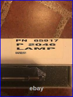 Nd yag laser xenon flash lamp PN 65917 P2046 for tattoo laser New! Made In UK