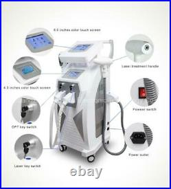New IPL RF ND Yag Laser Tattoo Hair Removal Machine treatment for all skin types