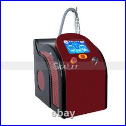Newest Picosecond Q Switched ND YAG Skin Care Laser Tattoo Remover with 4 Tips