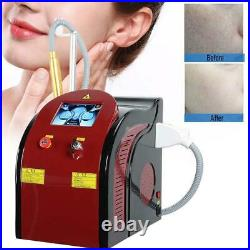 Picosecond Laser ND YAG Spa Tattoo Eyebrow Pigment Removal Anti-Aging Machine