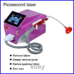 Picosecond Laser Nd Yag QSwitch Tattoo Removal Eyebrow Callus Remover Machine GO
