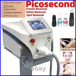 Picosecond QSwitch ND-YAG LASER Tattoo Removal Skin Beauty Pico Machine 2020 NEW