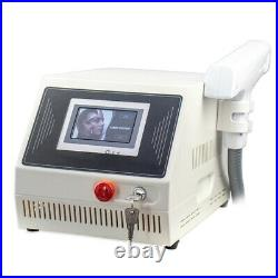 Portable Salon Q Switched ND Yag Laser Equipment Tattoo Removal Eyebrow Pigment