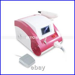 Professional Q Switch ND YAG LASER Tattoo Removal Eyebrow Callus Removal Machine