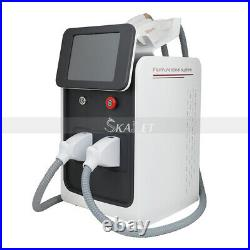 Professional SHR OPT+RF+ND Yag Laser Hair Removal Tattoo Freckle Removal Machine