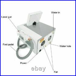 Q Switch ND-YAG LASER Tattoo Removal Picosecond Skin Beauty Pico Machine Care