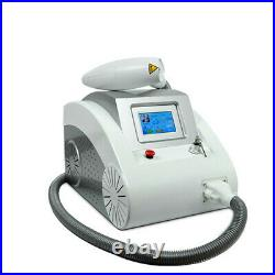 Q Switch ND Yag Laser Tattoo Removal Eyebrows Freckle 2000MJ 1064nm 532nm 1320nm