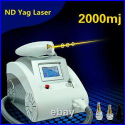 Q Switch ND Yag Laser Tattoo Removal Machine Tattoo Pigment Speckle Mark Removal