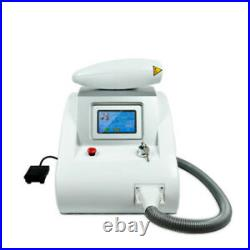 Q Switch Nd Yag laser tattoo removal machine with 1064nm/532nm/BD-LS tip tattoo