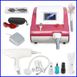 Q-Switched ND YAG Laser Tattoo Removal Machine Eyebrow Callus Removal Equipment