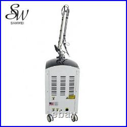 Q Switched Nd Yag Laser for Tattoo Removal Color Pigment Removal