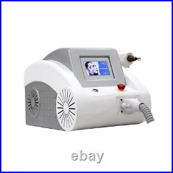 Q-switch Tattoo Removal System Nd YAG laser machine 1064/532nm black face doll
