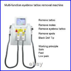 SHR OPT Permanent Hair Removal Machine ND YAG Laser Tattoo Removal Instrument