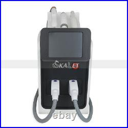 Salon Use 3in1 RF OPT Laser ND YAG Hair Tattoo Removal Skin Care Machine with CE