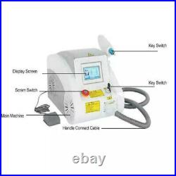 Tattoo Removal Device Q Switched Nd Yag Laser Skincare Carbon Peel Salon Device